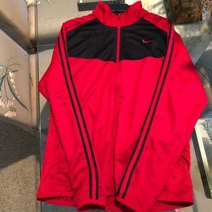 Nike Men's Red windbreaker jacket